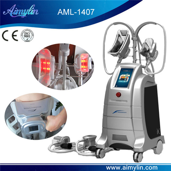 4 handles cryolipolysis machine AML-1407