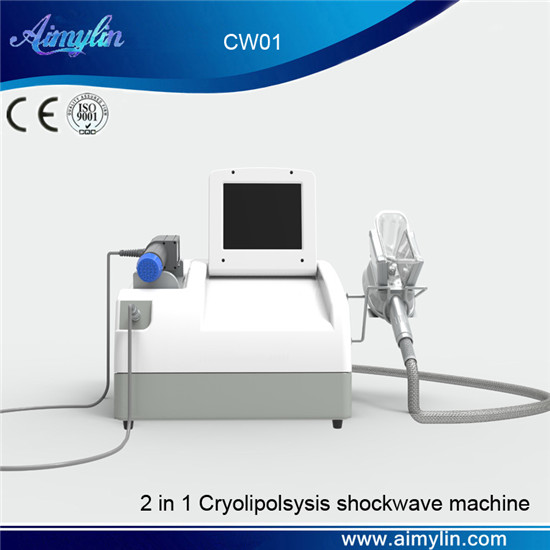 Fat freezing cryolipolysis shockwave therapy equipment CW01