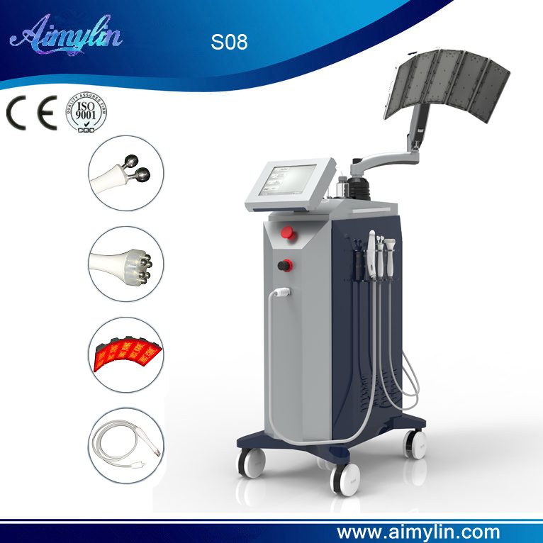 Oxygen jet peel micro current therapy S08