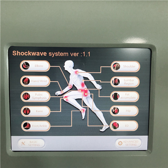 Shockwave therapy SW7