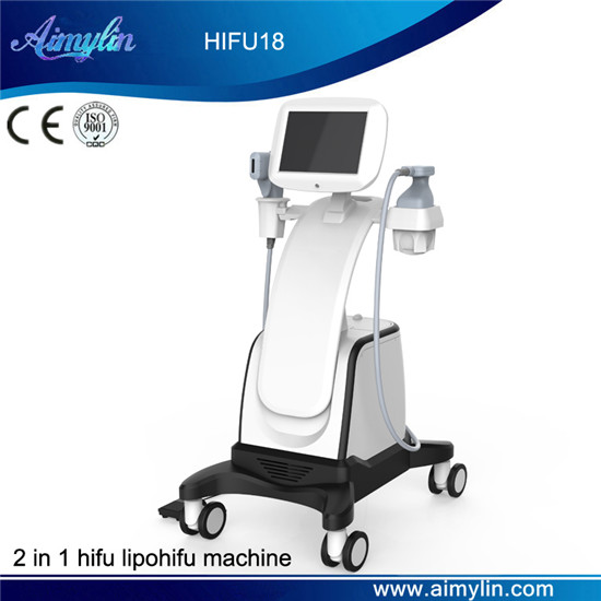 2 in 1 hifu beauty machine HIFU18