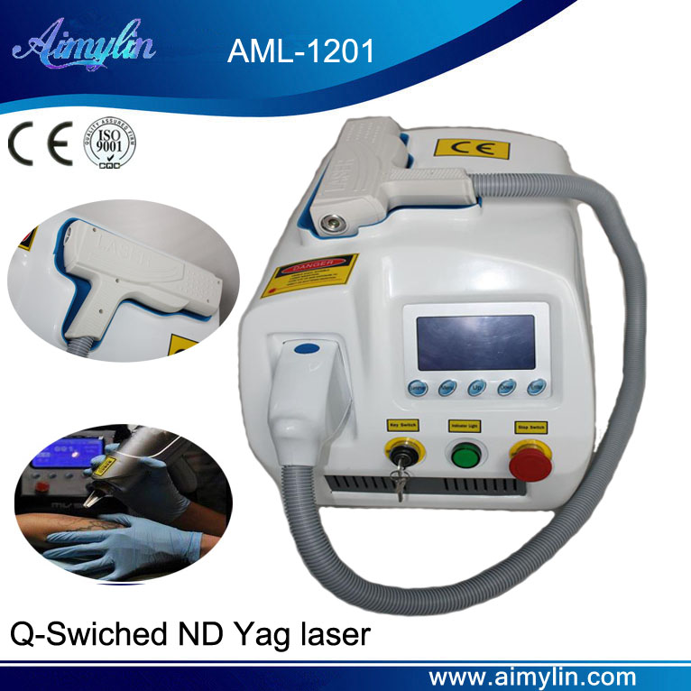 Q-Switched ND YAG laser tattoo removal AML-1201
