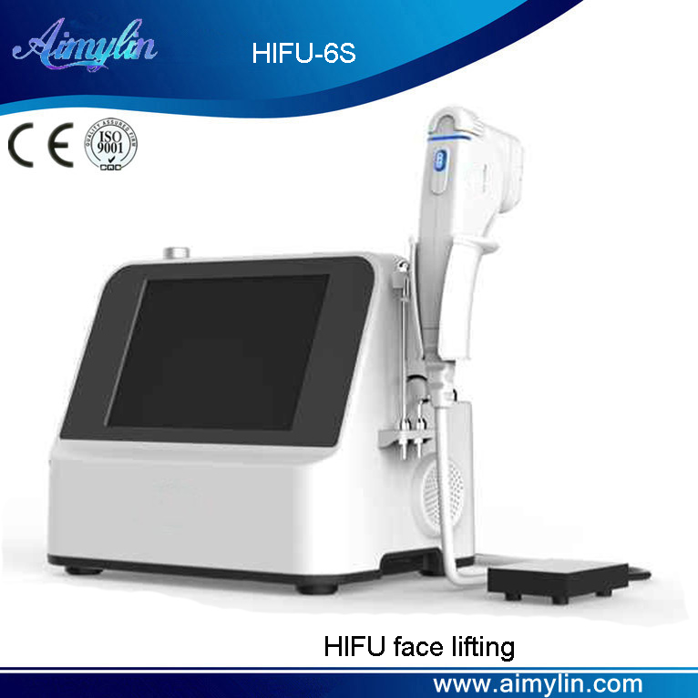 Portable hifu face lifting HIFU-6S
