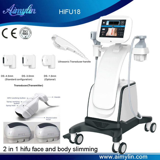 HIFU face lifting and body slimming HIFU18