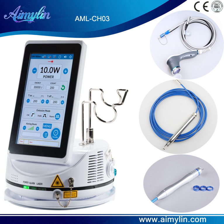 810nm 980nm Diode Laser Machine AML-CH03