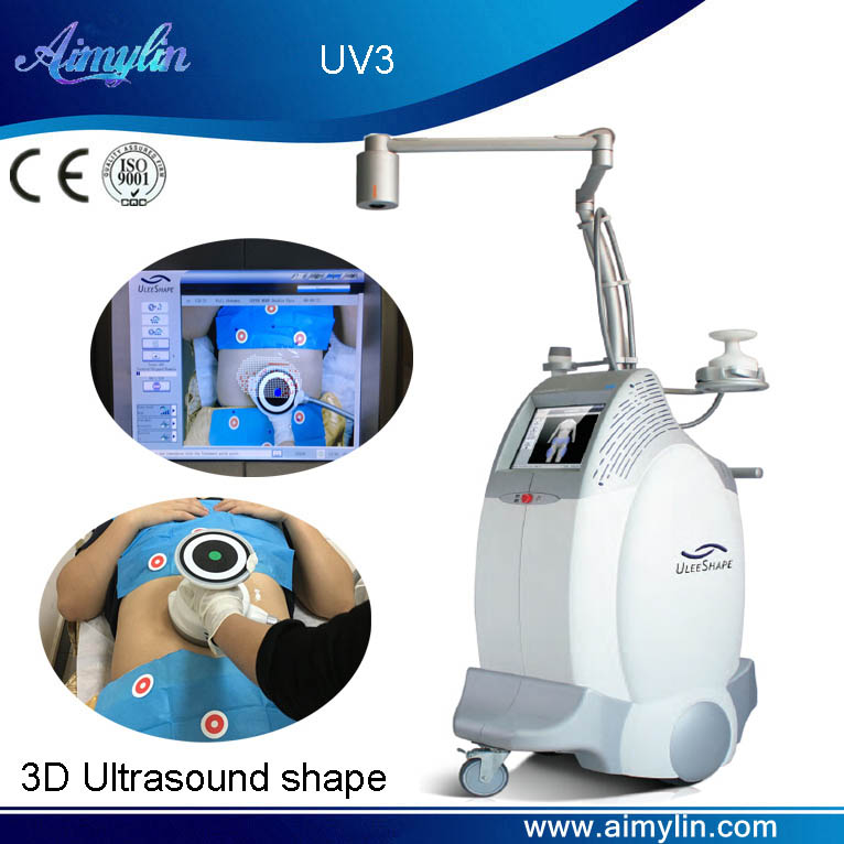 3D ultrasound shape fat reduction UV3