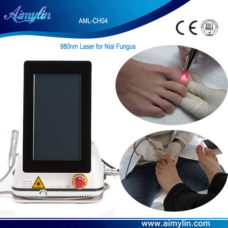 980nm diode laser machine for nail fungus AML-CH04