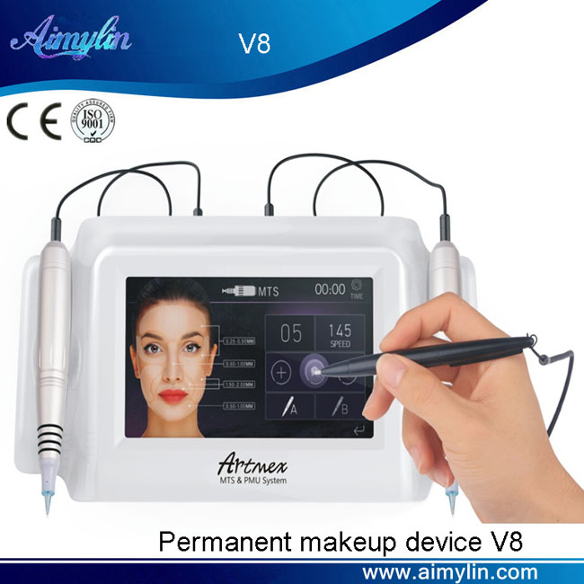 Permanent makeup machine V8
