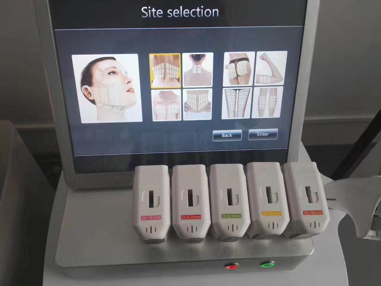 3D hifu facial and body slimming machine